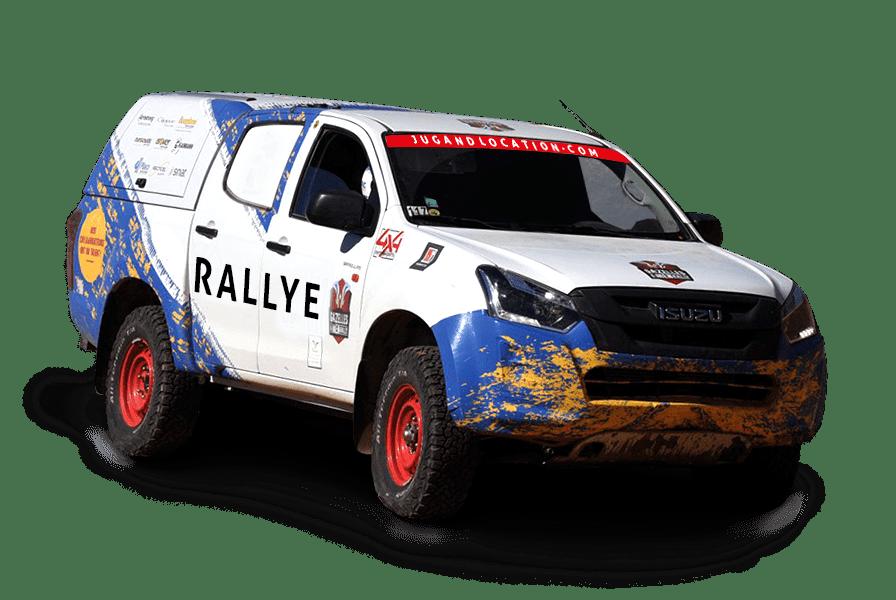 Pick-up spécial rallye avec ou sans Hard Top