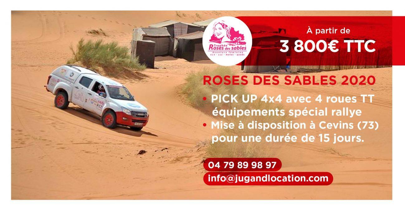 Trophée Roses des Sables à partir de 3800€ TTC