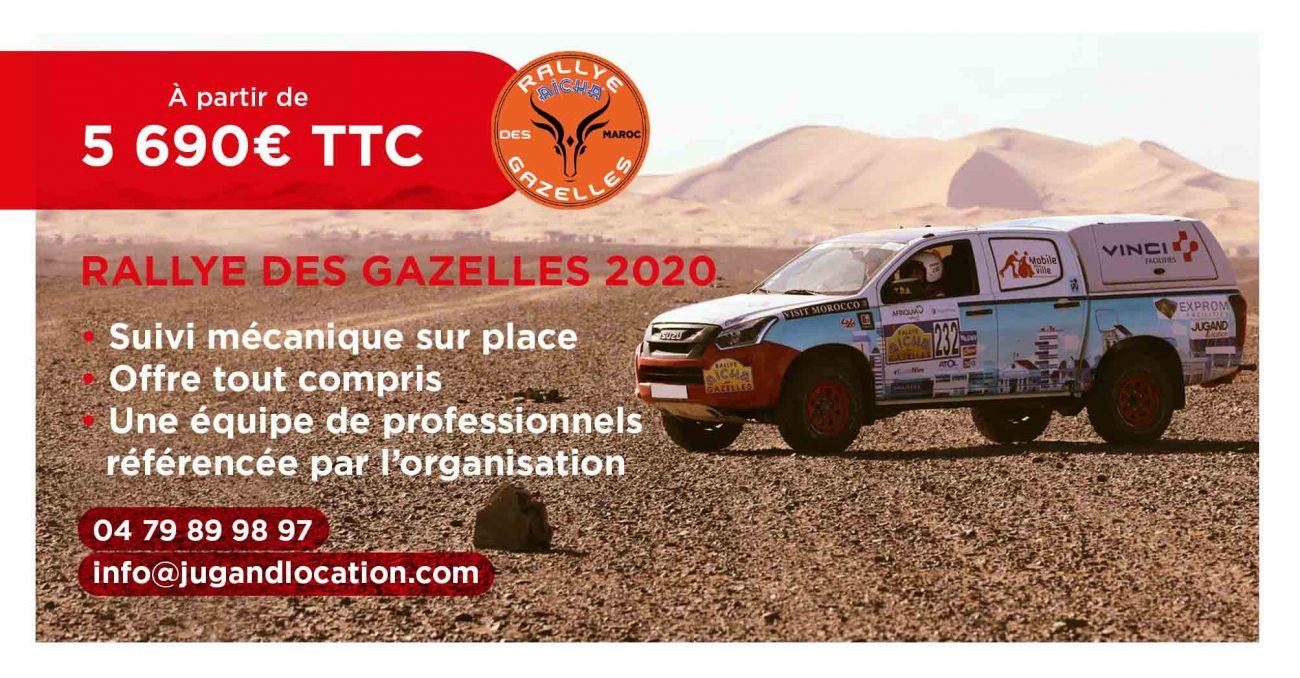 Rallye des Gazelles à partir de 5690€ TTC